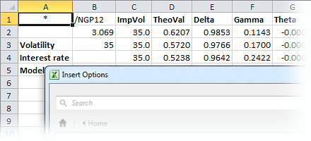 Intraday & Historical Energy Data Excel Addin   MarketView